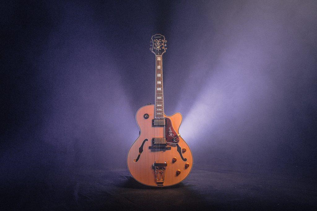 Expensive guitar